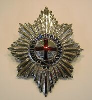 Large Coldstream Guards Officers Badge  British Military - Pith Hat Badge