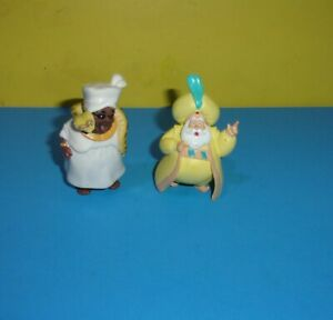 "3"" Aladdin Sultan PVC Figure Disney Cake Topper w/ Snake Charming"