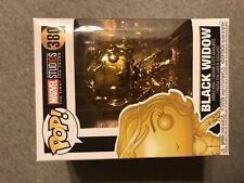 Black Widow #380 Gold Chrome Marvel Studio's 10th Anniversary Funko Bobble Head