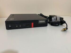 Lenovo M75q-1 Tiny Desktop PC AMD Ryzen 5 Pro 3400GE, 8GB DDR4, 256GB NVMe M.2