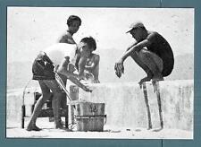 "MACAU-MACAO-postcard-Crafts typical: ""vendilhao de Tau-FU-FA"""