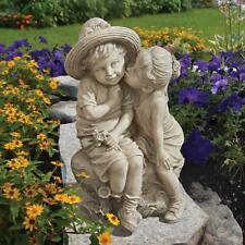 Nouveau Design Toscano Classique Lion assis Statue Décoration Jardin