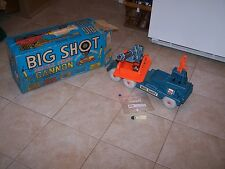 Marx BIG SHOT Battery operated Mobile Missile Unit WORKING w/ RADAR & OB