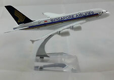 Airbus A380 Singapore Airlines 16cm Metal Model Plane Aeroplane Toy BNIB Airline