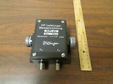 Huttinger B84-25 HF Radio Power Sensor BNC Pickoffs NOS