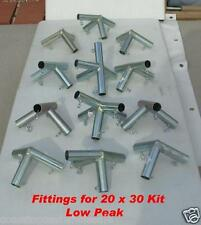 14x30 Canopy Shade Tent Car Boat Sports Fittings (connectors) Only, Solid Steel