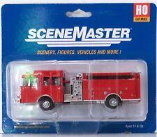 HO Scale Walthers SceneMaster 949-13800 Heavy-Duty Fire Engine