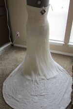 Adele Wechsler Wedding dress Abigail style size 10  COLLECTION No.4 Y10286043