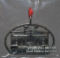 Hand & Hammer Sterling Richmond Byrd Theater Ornament NEW