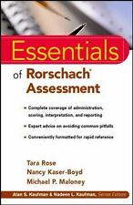 Essentials of Rorschach Assessment Kaser-Boyd, Nancy, Maloney, Michael P., Rose,