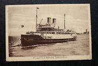 Marine Schiff AK Passagier Dampfer S. S. Bubendey Seebäderdienst 1920er Seefahrt