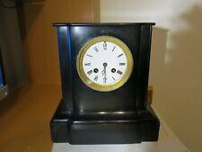 Orologio pendolo parigina marmo nero