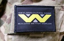 Weyland-Yutani Corp Full Color Tactical Military Morale Patch Cosplay Aliens