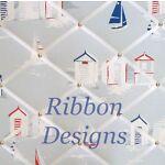 Ribbon Designs Fabric Notice Boards