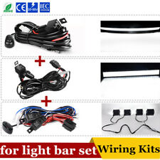 3x Wiring Harness Switch 12V 40A Relay Kit Fuse for 52/42''+32/22'' Light Bar