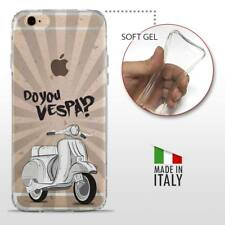 iPhone 6 Plus 6S Plus TPU CASE COVER PROTETTIVA TRASPARENTE VINTAGE Do You Vespa