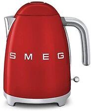 Red Metal Cordless Jug Kettle Tea Kettles