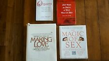 Magic of Sex Making Love Orgasms 203 Ways to drive a man wild in bed book lot