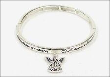 Nurses' Blessing RN LPN Medical Physician Hospital Angel Charm Bracelet #346-B