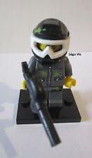 Légo 71001 Minifig Figurine Série 10 Paintball Player + socle