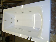 Whirlpool Bath CUBE 10 Jet Single end  1700 x 700