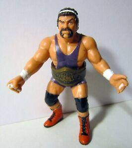 WCW Wrestling Figure, Rick Steiner, 1990, With Wrestling Belt; Galoob