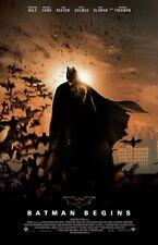 "Batman Begins movie poster print (c) - 11"" x 17"" Christian Bale poster, Batman"