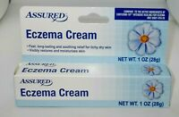Assured ECZEMA CREAM Fast Relief 4 Itchy Skin New In Box 02/2022