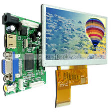 "4 3""TFT Color LCD Display Module,w/HDMI,VGA,Video Driving Board for Raspberry PI"