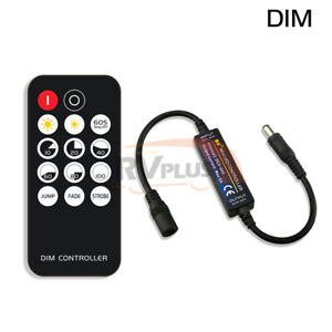 RF LED Strip Accessories Mini 14Key Switch Remote Controller Dimmer Single Color