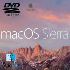 More details for apple mac os x 10.12 sierra install recovery repair reinstall dvd