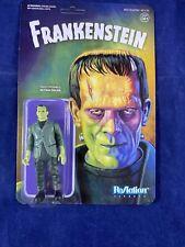 """Frankenstein's Monster Frankenstein 3.75"""" ReAction Figure New on Card"""