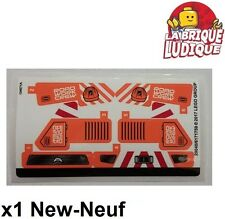 Lego - 1x Sticker Autocollant Technic 42060 Roadwork Crew pelleteuse camion NEUF
