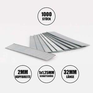 1000x Nägel für Druckluft Nagler, elektrischen Nagel- und Klammergeräten (30mm)