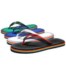 Mens Flip Flop Flats Outdoor Slip on Summer Beach Slippers Shoes Sandals 4Colors