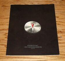 Original 2007 Pontiac Accessories Sales Brochure 07 Solstice Grand Prix
