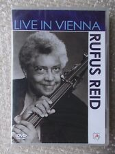 RUFUS REID ~ LIVE IN VIENNA ~ BRAND NEW & SEALED DVD