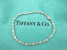 Authentic Tiffany & Co Jazz Bracelet in Platinum with Diamonds 1.60ct