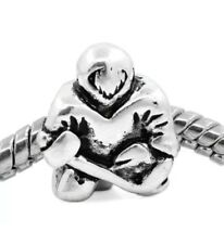 HOCKEY GOALIE_Bead For European Chain Charm Bracelet_Player Skaking Ice nhl_H21