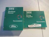 2004 FORD Thunderbird Wiring Diagrams & Service Manuals Manual Set OEM