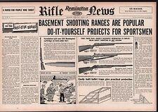 1955 REMINGTON Model 514, 521T, 512 Rifle Centerfold AD