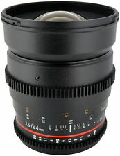 Samyang Kameraobjektiv mit manuellem Fokus für Nikon F