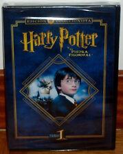 HARRY POTTER Y LA PIEDRA FILOSOFAL ED.COLECCIONISTA 2 DVD PRECINTADO NUEVO R2