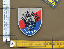 "Ricamata / Embroidered Patch ""Delta"" with VELCRO® brand hook"