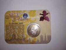 Malaysia Shah Alam City  Coin Card 2000 (BU) RM1