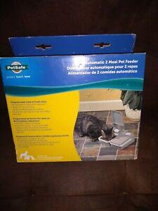 Petsafe Automatic 2 Meal Pet Feeder for Dog & Cat, Auto Portion Food Dispenser