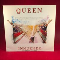 "QUEEN Innuendo 1991 UK 3-track 12"" VINYL single EXCELLENT CONDITION David Bowie"