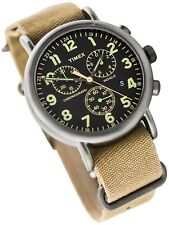 TIMEX MEN'S WEEKENDER CHRONOGRAPH  STAINLESS  WATCH, TW2P85200, NIB