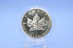 Kanada 5 $ 2010 Maple Leaf 1 oz 999  Silber *ST* in Kapsel