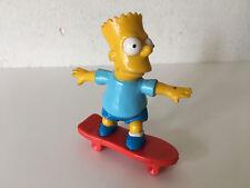 Used - Plastic Figure BART SIMPSON Figura de Plástico  8,5 x 7 cm For collectors